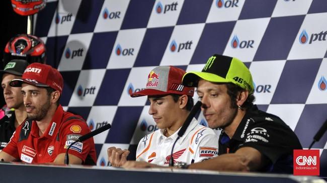MotoGP: Rossi Melihat Marc Marquez Sangat Cepat di Tikungan