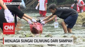 VIDEO: Menjaga Sungai Ciliwung Dari Sampah
