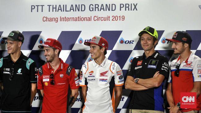 MotoGP Thailand 2020, 20-22 Maret 2020, dipastikan berjalan sesuai jadwal setelah dinyatakan bebas dari ancaman virus corona.