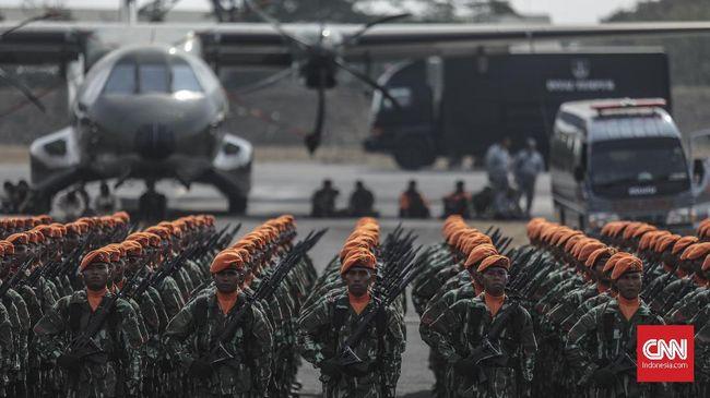 Dengan pagu anggaran Kemenhan naik menjadi Rp136,99 triliun tahun depan, tunjangan kinerja TNI pun dinaikkan hingga 80 persen pada 2021.