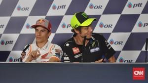 MotoGP Ceko: Untuk Juara, Marquez Berharap pada Rossi
