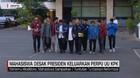 VIDEO: Mahasiswa Desak Presiden Keluarkan Perppu UU KPK