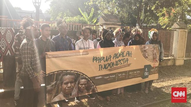 Belasan Mahasiswa Papua Minta Maaf soal Rusuh Wamena