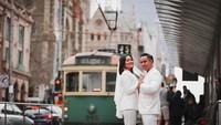 Sebelum menikah, Naureen dan Rashid menggelar foto pra-wedding di Australia. (Foto: Instagram @sufierashid)