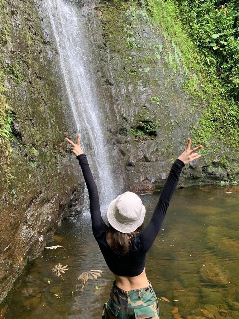 Potret Lisa BLACKPINK saat menghabiskan waktu liburan di Australia.