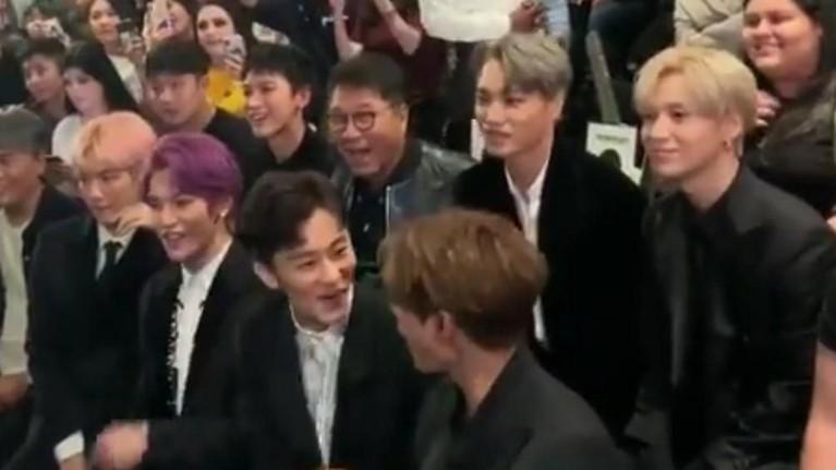Banyak penggemar yang menyebut bahwa Lee Soo Man dan anggota SuperM seperti sahabat.