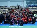 FOTO: Indonesia Juara Dunia dan Bawa Pulang Piala Suhandinata