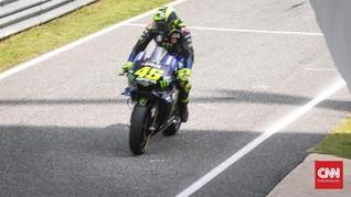 Rossi Juga Terancam Absen di MotoGP Teruel Usai Positif Covid