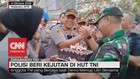 VIDEO: Polisi Beri Kejutan di HUT TNI