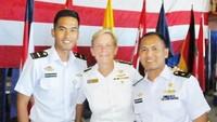 <p>Sekarang, Rendy tengah bertugas di Pangkalan Utama TNI Angkatan Laut X Jayapura. (Foto: Instagram @rendymeidiyanto)</p>