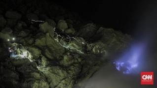 Kemendikbud Ajukan Kawah Ijen Jadi Geopark UNESCO