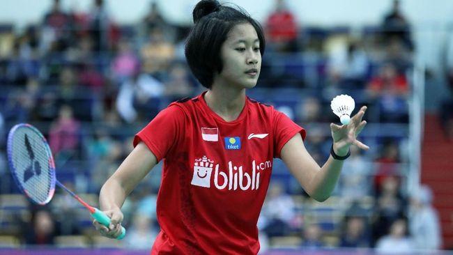 Putri Kusuma Wardani mengaku kecewa lantaran gagal melawan atlet badminton nomor tiga dunia Carolina Marin di Spain Master 2021.