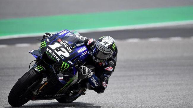 Maverick Vinales jauh lebih unggul dibanding rekan satu timnya di Yamaha, Valentino Rossi, pada hari terakhir tes MotoGP di Qatar.