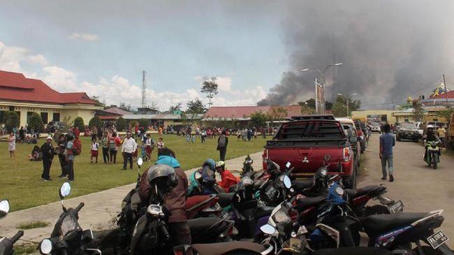 293 Warga Asal Sumut di Wamena Masih di Pengungsian
