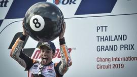 Marquez Bikin MotoGP Tidak Seru dan Rossi Tak Berdaya