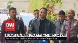 VIDEO: Bupati Lampung Utara Terjaring OTT KPK