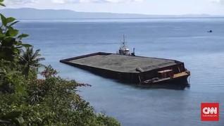 KNKT Ungkap Penyebab Kapal Nikel Karam di Maluku: Likuefaksi
