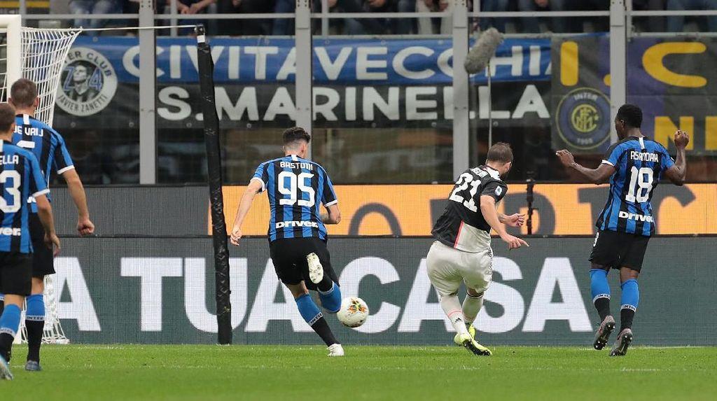Inter Milan Vs Juventus: Bianconeri Menangi Derby d'Italia