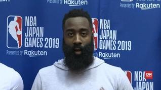 VIDEO: James Harden Minta Maaf Atas Ulah Manajer Tim Rockets