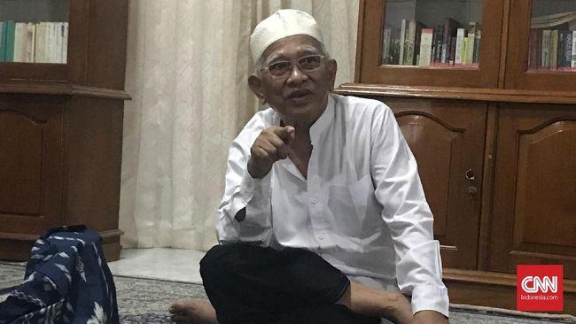 Gus Mus memiliki pesan khusus terhadap Presiden Joko Widodo dalam memilih para menteri di kabinet barunya.
