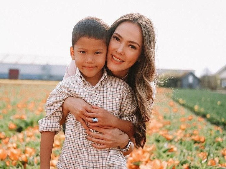 Jacob sendiri lahir setelah setahun pernikahannya dengan sang suami kala itu, yakni pada tahun 2013.