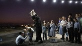 Kaum Yahudi Ultra-Ortodoks melakukan ritual dalam upacara untuk membersihkan diri dari dosa. Upacara Tashlich dilaksanakan jelang hari besar Yom Kippur.