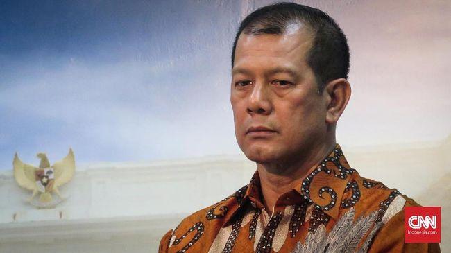Kepala Bada Nasional Penanggulangan Bencana (BNPB) Letnan Jenderal Doni Monardo di Kantor Presiden, Kompleks Istana Kepresidenan Jakarta, Selasa (8/10).