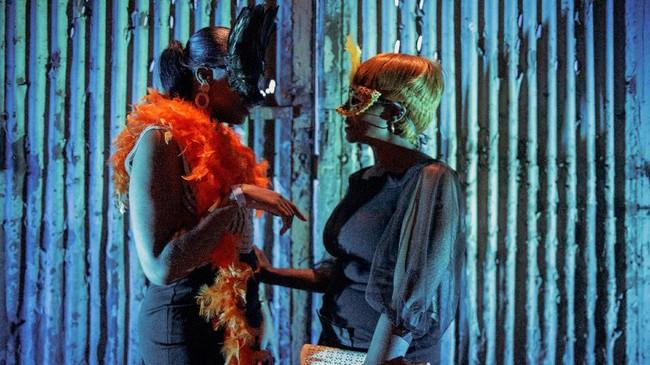 Diabolique bukan pesta seks. Festival ini lebih menunjukkan kreativitas dan kebebasan dengan cara yang unik.