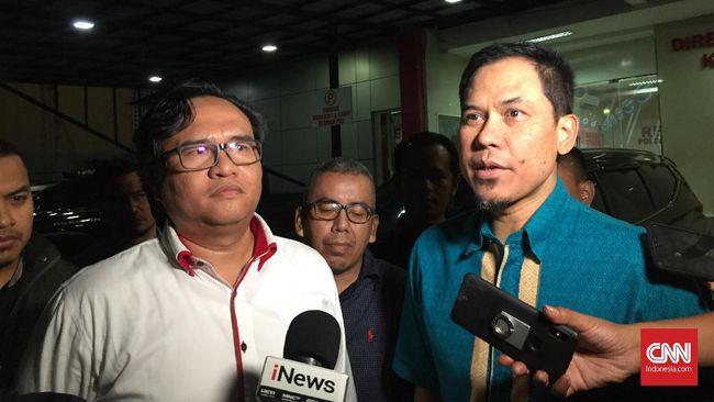 Sekretaris Umum DPP FPI, Munarman, mengaku belum pernah melihat rekaman CCTV Masjid Al-Falah, Pejompongan, Jakarta, tempat Ninoy Karundeng diduga disekap.