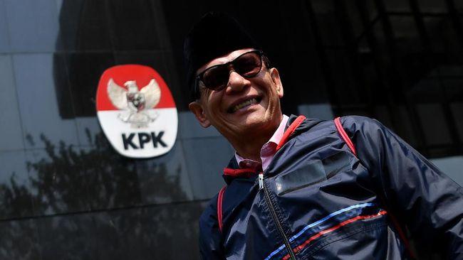 Mantan Anggota BPK Rizal Djalil merupakan tersangka suap proyek pembangunan sistem penyediaan air minum (SPAM) Kementerian PUPR.