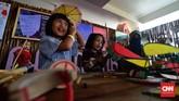 Pekan Kebudayaan Nasional (PKN) diadakan Istora Senayan, Jakarta, menampilkan berbagai pameran seni lukis hingga kuliner dan permainan tradisional.