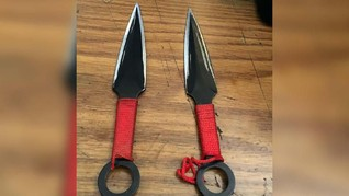 Penusuk Wiranto Gunakan Senjata Ninja ala Naruto