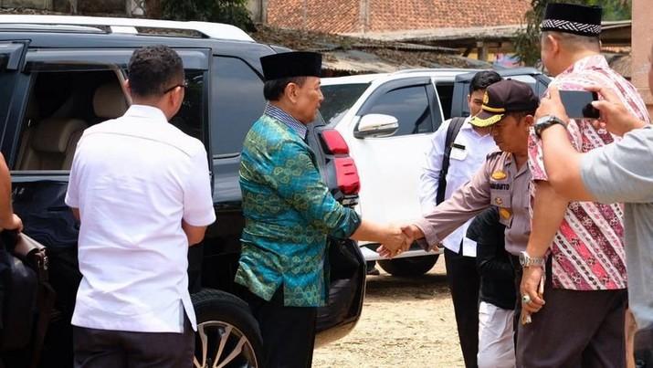 Pakai Gunting, Ini Kronologi Penusukan Wiranto di Pandeglang