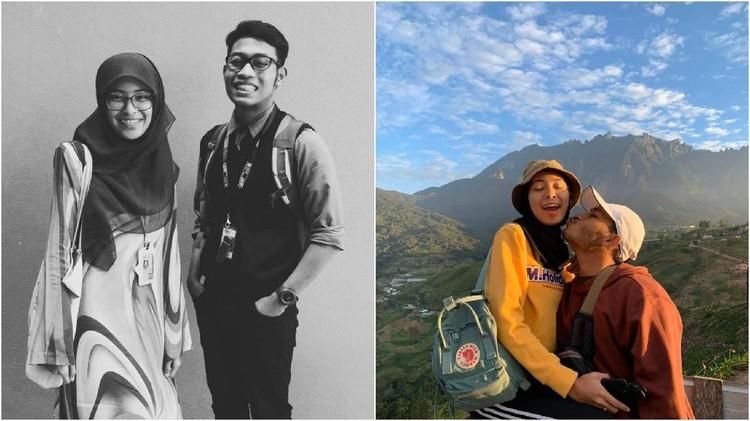 Foto pasangan muda di Malaysia sebelum dan sesudah menikah viral di Twitter.