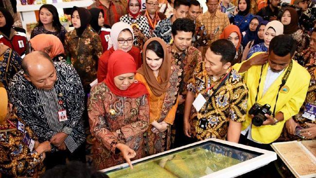 Jatim Fair merupakan rangkaian Hari Jadi ke-74 Jawa Timur 2019 pada 8-13 Oktober dengan mengusung tema
