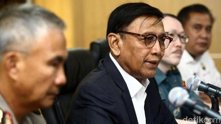 2 Pelaku Penusukan Wiranto Sudah Dibawa ke Jakarta