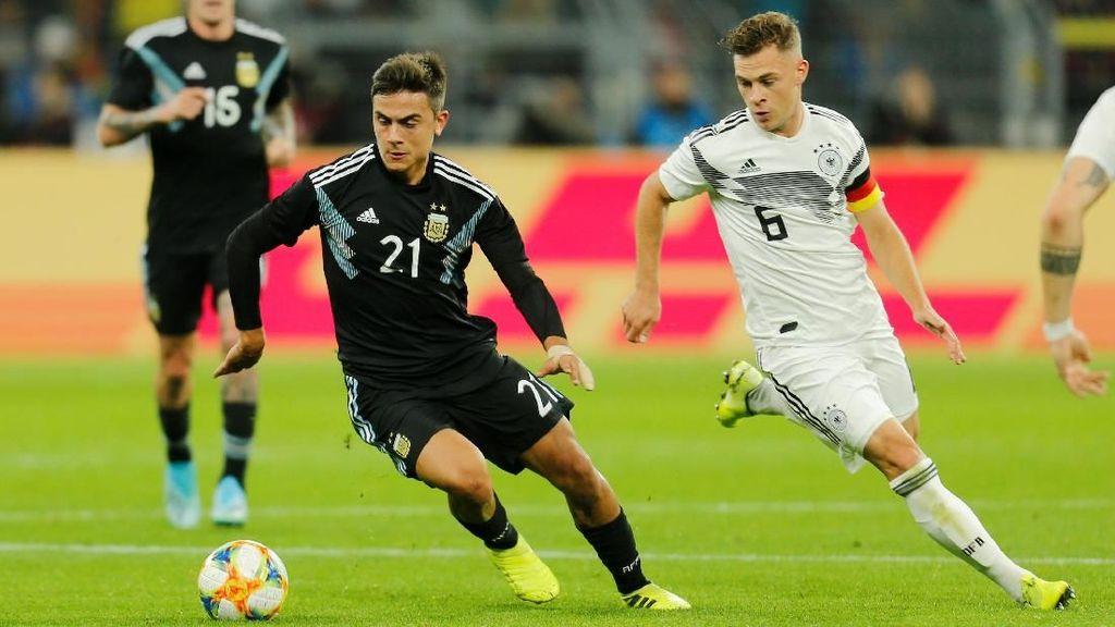 Pemain Muda Jerman Imbangi Argentina