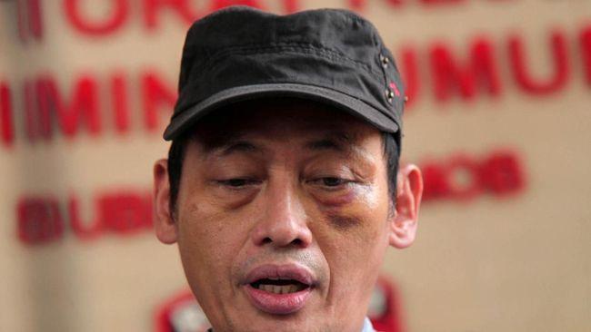 Buronan dalam kasus penculikan pegiat media sosial Ninoy Karundeng bernama Shairil Anwar akhirnya menyerahkan diri setelah sempat kabur ke bekasi.
