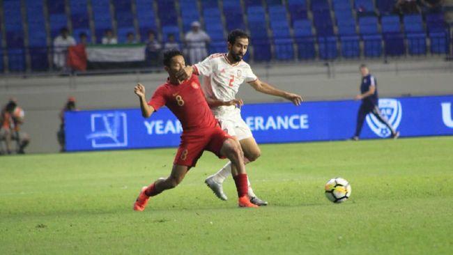 Timnas Indonesia memperpanjang rekor buruk jika menghadapi tim Timur Tengah setelah kalah 0-5 dari Uni Emirat Arab pada laga Kualifikasi Piala Dunia 2022.