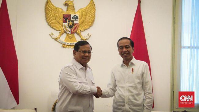 Presiden Jokowi menegaskan Partai Gerindra kemungkinan besar akan masuk ke dalam koalisi partai pemerintahan.