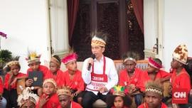 Jokowi Minta Anak-anak Pakai Masker dan Hindari Kerumunan