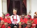 Jokowi Tepati Janji Ajak Anak SD Papua Jalan-jalan ke Jakarta