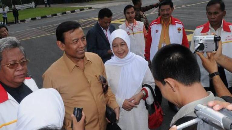 Bagi Wiranto, Rughaiyah selalu setia mendukung setiap aktivitas yang dilakukan olehnya. Tak hanya mendukung, Rughaiyah juga selalu memberikan masukan untuk Wiranto.