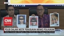 VIDEO: Polri: Pelaku Penyerangan Wiranto Sudah Siap Mati