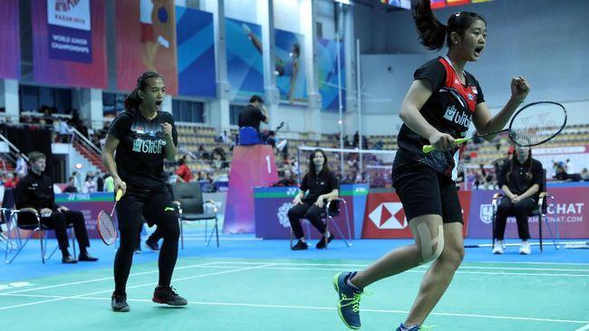 Pebulutangkis ganda putri, Febriana Dwipuji Kusuma/Amalia Cahaya Pratiwi berhasil lolos ke final Kejuaraan Dunia Badminton Junior.