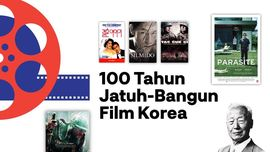 INFOGRAFIS: 100 Tahun Jatuh-Bangun Film Korea