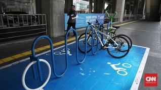 Kantor-Mal Didenda Jika Tak Sediakan Parkir Sepeda Saat PSBB