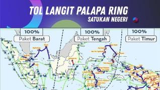 'Tol Langit' Jokowi Disebut Belum Jangkau Internet RI Timur