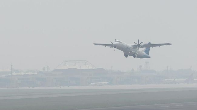 Kabut Asap Ekstrem di Palembang, 28 Penerbangan Terganggu