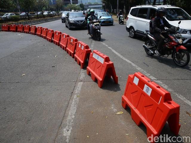 Antisipasi Demo, Jalan Depan Gedung DPR Ditutup